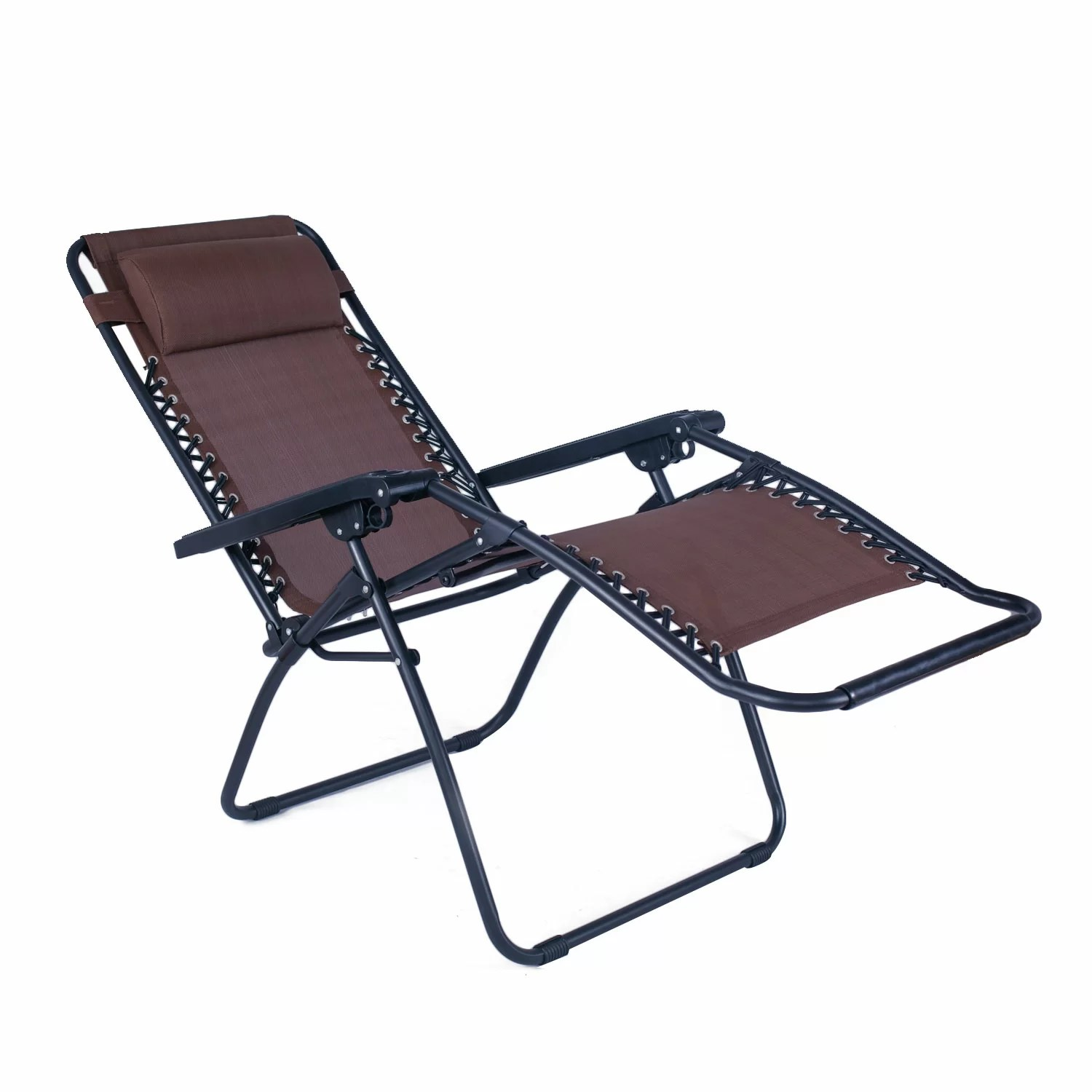 recliner lawn chairs folding kitchen chair seat cushions adecotrading outdoor and reclining zero gravity