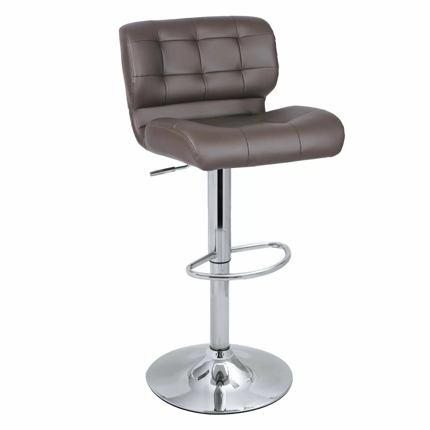 Adecotrading Adjustable Height Swivel Bar Stool & Reviews