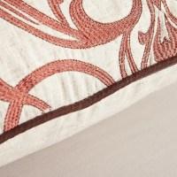 Calla Angel Embroidered Throw Pillow & Reviews | Wayfair