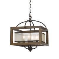Cal Lighting Mission 4 Light Mini Pendant & Reviews | Wayfair