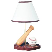 "Cal Lighting Juvenile Baseball 15"" Table Lamp & Reviews ..."