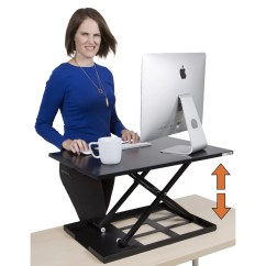 Sit Stand Chair Amazon Desk Cushion Steady X Elite Pro Standing And Reviews Wayfair