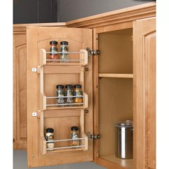 Kitchen Cabinet Spice Rack Moen Anabelle Faucet Rev A Shelf Door Mount 3