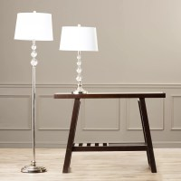 Dale Tiffany Optic 2 Piece Table and Floor Lamp Set ...
