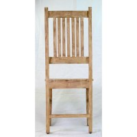 Design Tree Home Reclaimed Mango Wood Side Chair | Wayfair