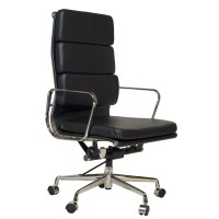 Design Tree Home Mid Century Leather Desk Chair | Wayfair
