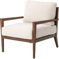 Design Tree Home Elouis Bespoke Laurent Wood Arm Chair ...