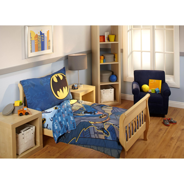 Batman 4 Piece Toddler Bedding Set & Reviews