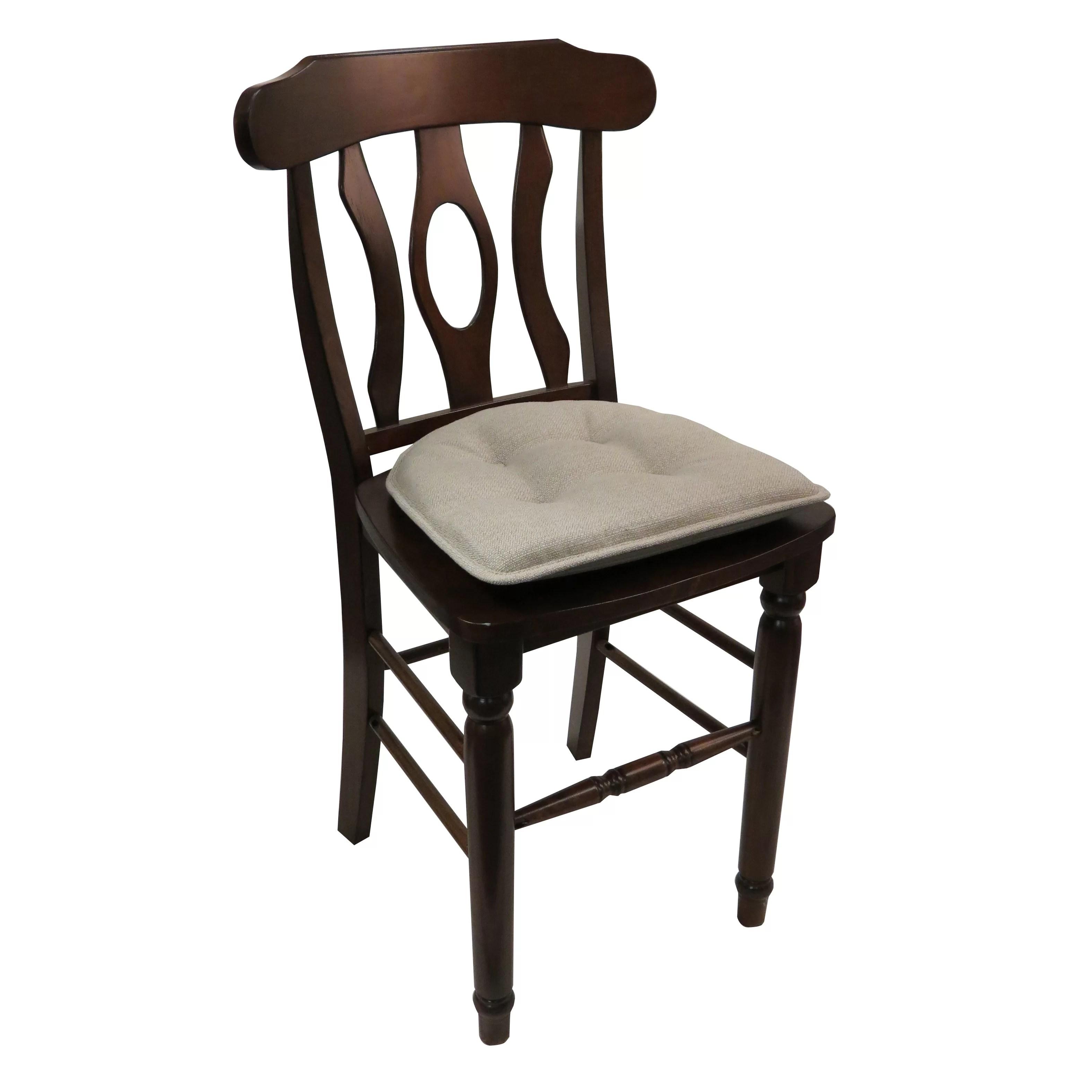 dining chair cushions non slip wayfair covers basics tufted gripper cushion