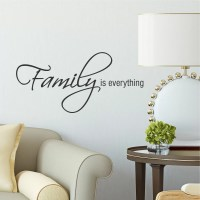 Belvedere Designs LLC Family is Everything Wall Decal