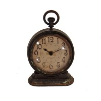 American Mercantile Metal Vintage Table Clock & Reviews