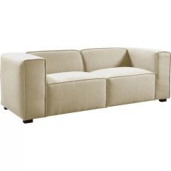 Large Overstuffed Sofas Grey Tufted Sofa With Chaise Madison Home Usa Wayfair