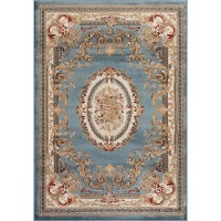 Persian-rugs Traditional Blue Area Rug & Reviews | Wayfair
