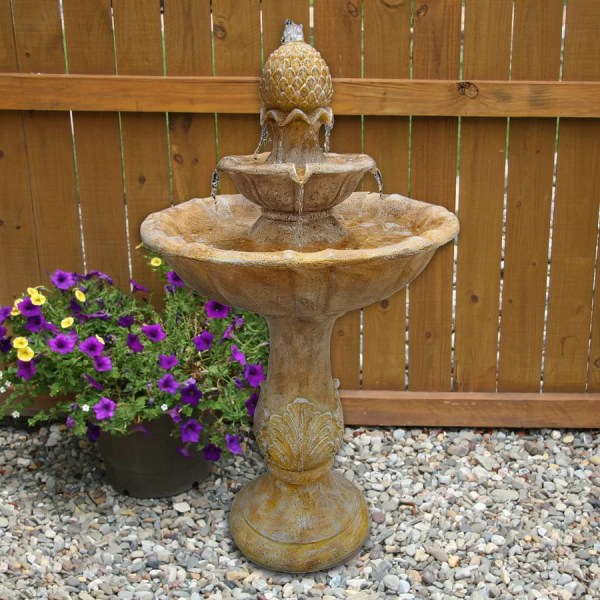 Tiered Fountain Polyresin