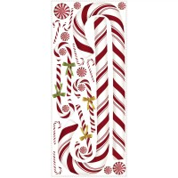 Wallhogs Holiday Candy Cane Wall Decal