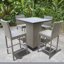 Tk Classics Oasis 5 Piece Bar Set