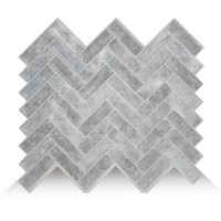 Smart Tiles Cortina 24.69cm x 26.87cm Peel & Stick Mosaic ...