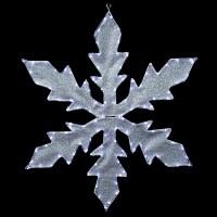 Northlight Lighted Indoor/Outdoor Tube Light Snowflake ...