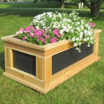 Infinitecedar Signature Series Rectangular Planter Box
