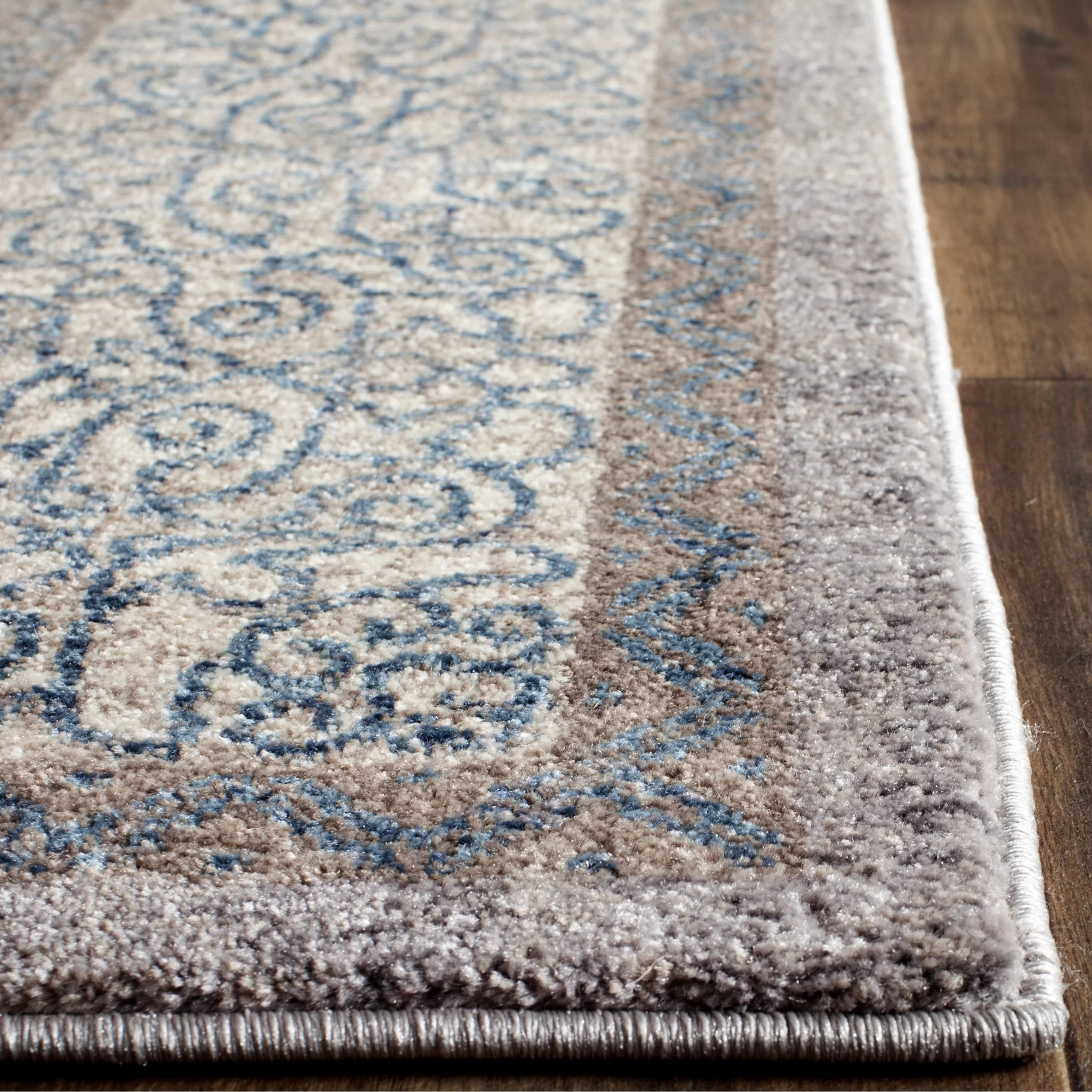 Darby Home Co Sofia Light GrayBlue Area Rug  Reviews