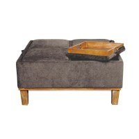 Darby Home Co Bowthe Cocktail Storage Ottoman & Reviews ...