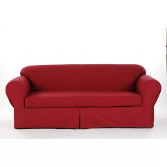 Wayfair Sofa Covers Vinyl Sofas Cheap Darby Home Co Brushed Twill Slipcover And Reviews