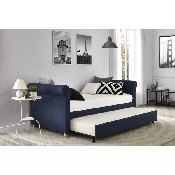 Darby Home Sipple Daybed With Trundle &
