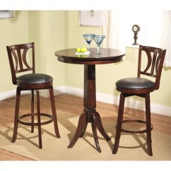 Pub Table And Chairs 3 Piece Set 2 Swivel Chair Rv Darby Home Co Loami Reviews Wayfair