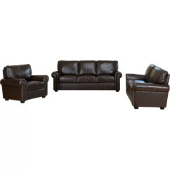 Italian Leather Sofa Reviews Bed Mattress Topper Argos Darby Home Co Coggins 3 Piece