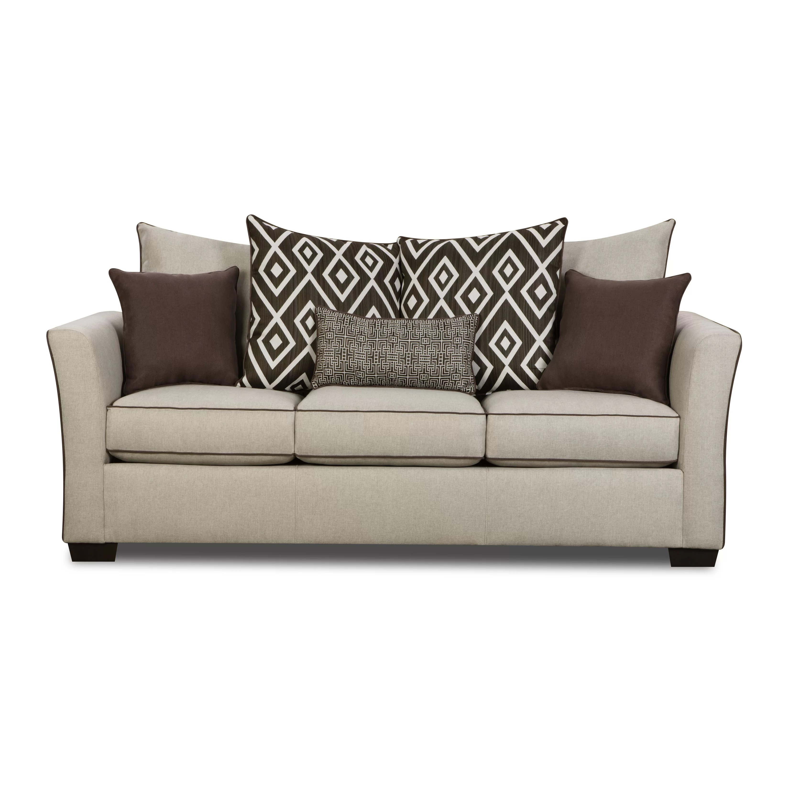 Darby Home Co Caldwell Sofa by Simmons Upholstery