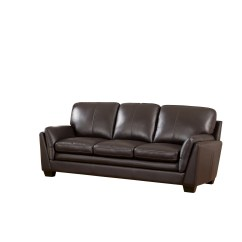 Top Grain Leather Sofa Set Fold Out Bed Uk Darby Home Co Whitstran And