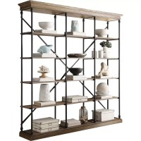 """Darby Home Co Eastgate 84"""" Etagere Bookcase & Reviews ..."""