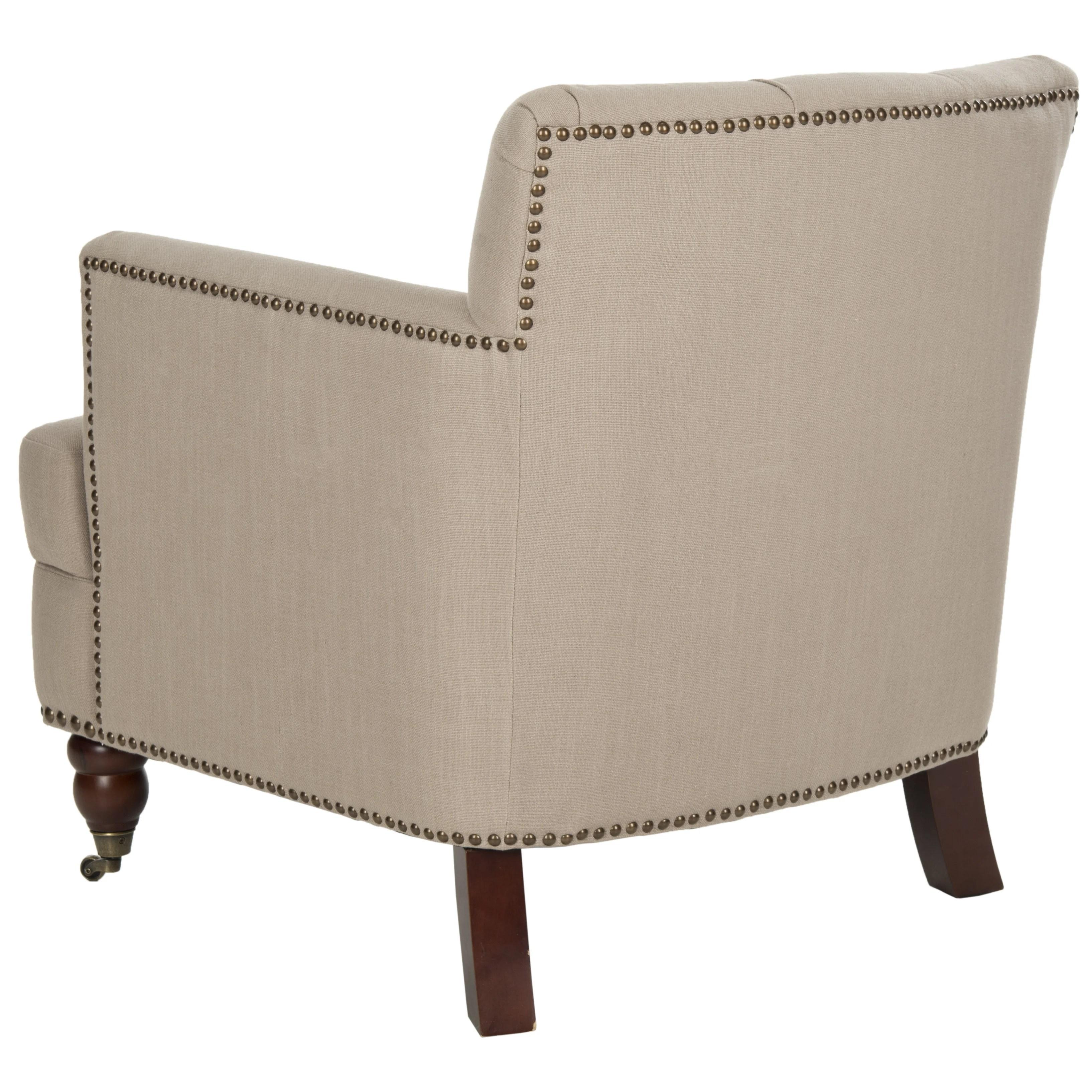 safavieh colin tufted club chair ebay salon chairs darby home co alderbrook wayfair