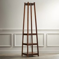 Alcott Hill Crannell 3 Tier Tower Shoe & Coat Rack