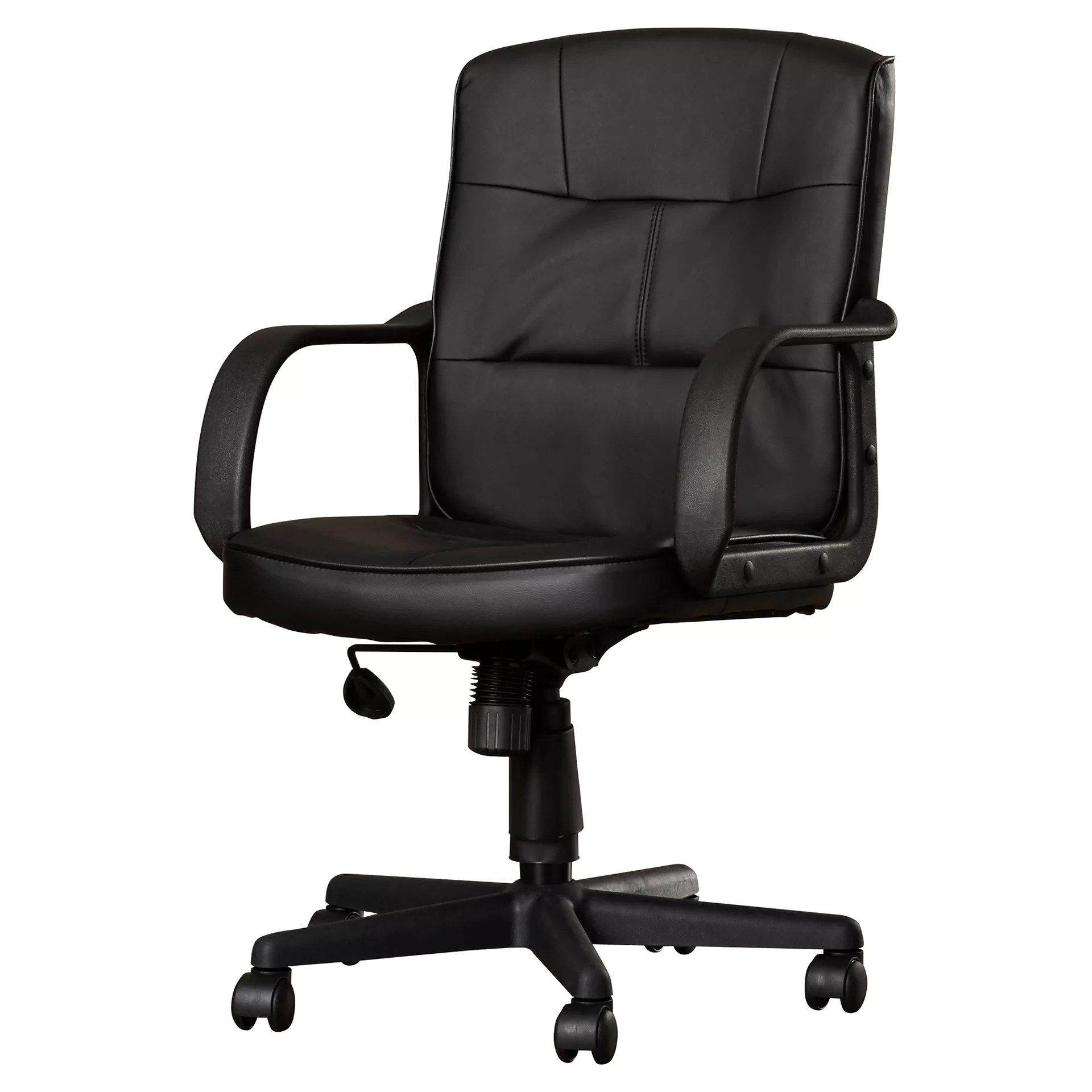 desk chair is too low covers essex charlton home reeve back leather office with