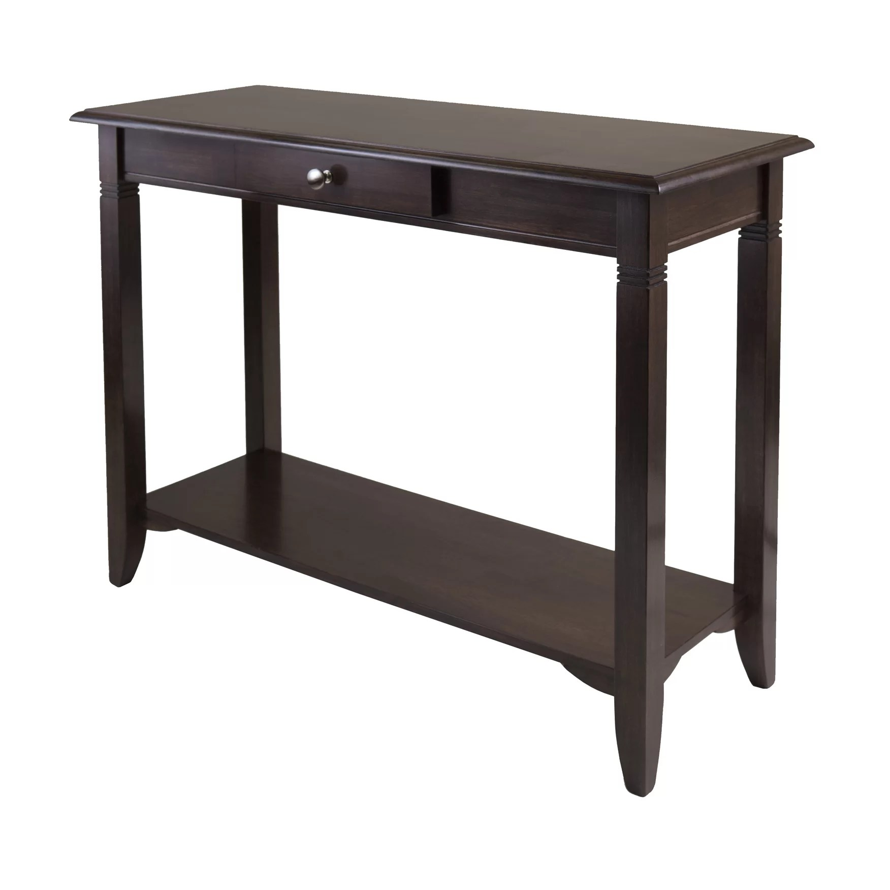 wayfair furniture sofa tables dye faux leather charlton home beckwood console table and reviews