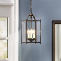 Charlton Home Leiters 3 Lights Foyer Pendant & Reviews