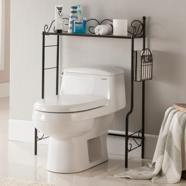 Bathroom Etagere Over Toilet