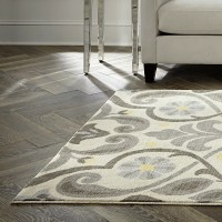 Charlton Home Westwood Scroll Neutral Area Rug & Reviews ...