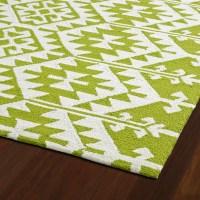 Varick Gallery Lime Green/Ivory Indoor/Outdoor Area Rug ...
