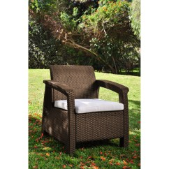 All Weather Garden Chair The Silver Summary Varick Gallery Colona Outdoor Arm With
