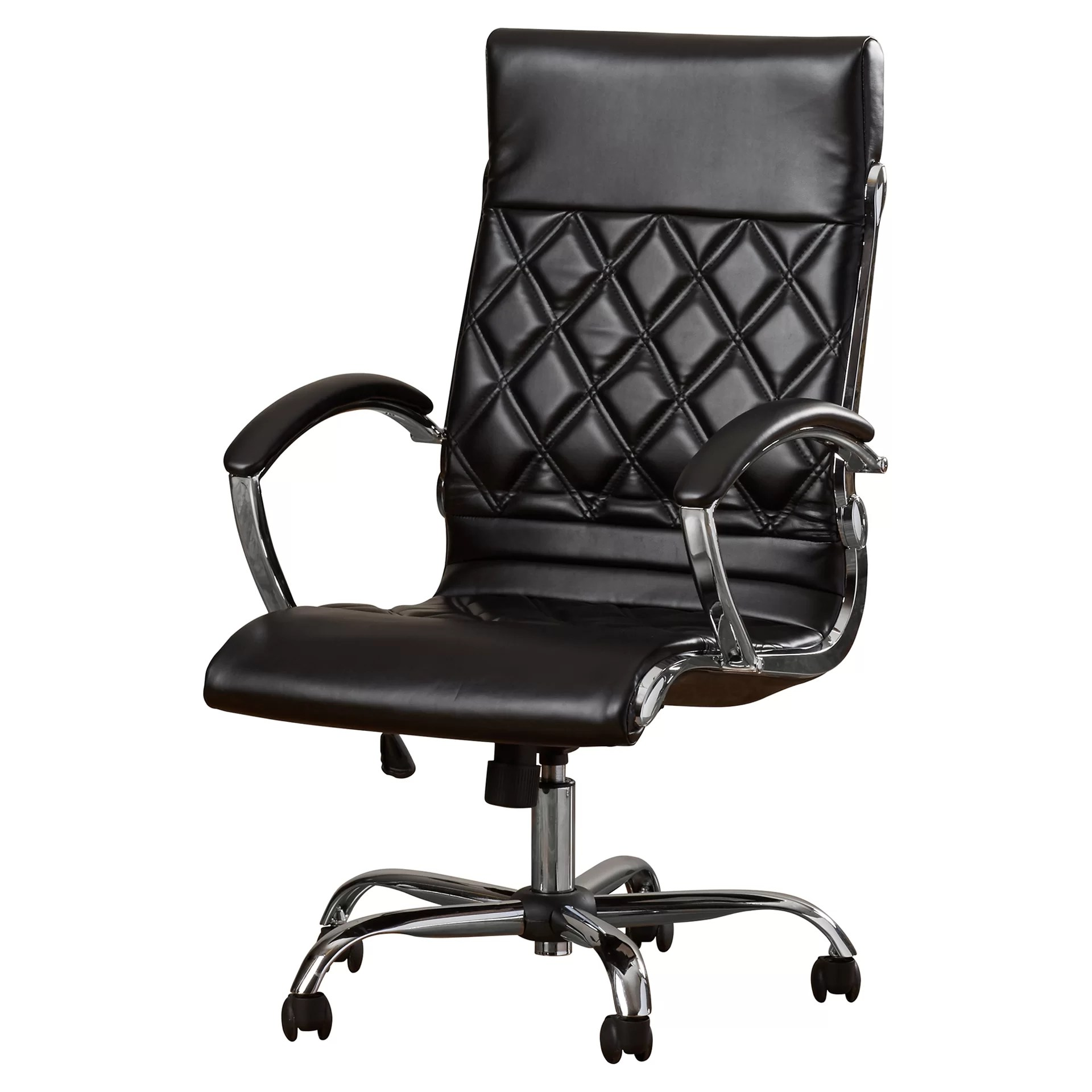 Studio Chairs Brayden Studio Camp Mabry Leather Executive Chair
