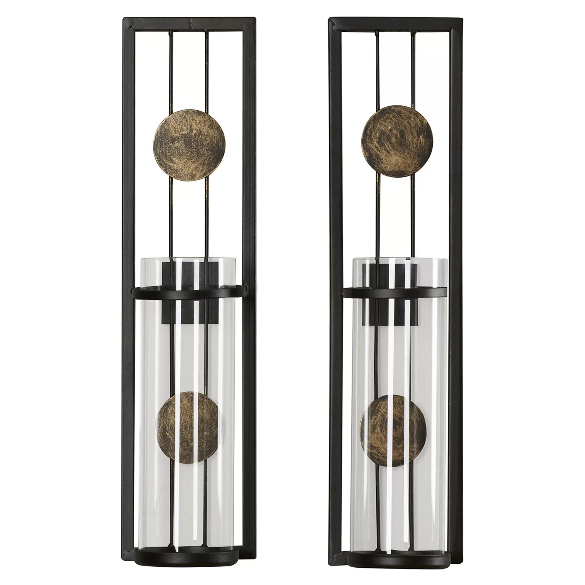 Brayden Studio Contemporary Wall Sconce Candle Holder