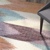 Brayden Studio Lopp Plum/Dusty Blue Area Rug & Reviews ...