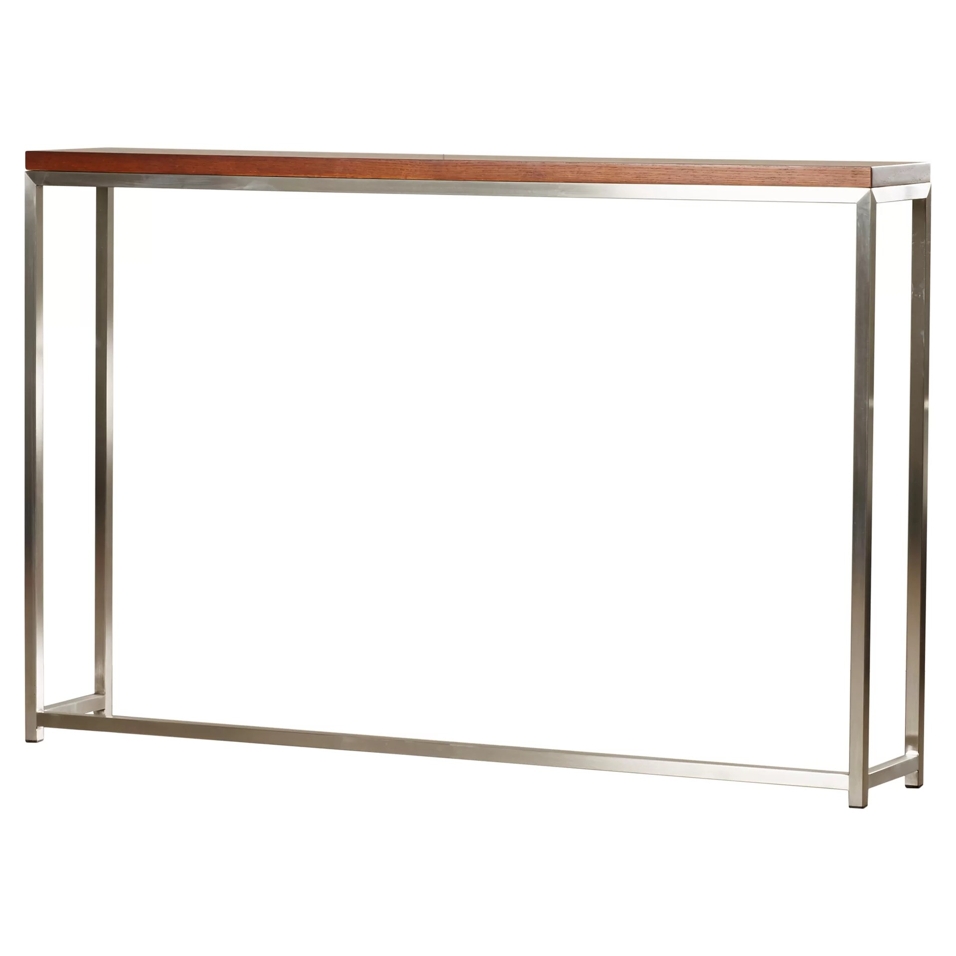 long tall sofa tables large clic clac bed wade logan alejandro console table and reviews wayfair
