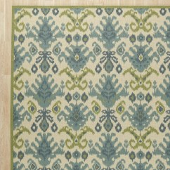 Green Kitchen Rugs Islands On Wheels Wade Logan Blair Ivory And Area Rug Reviews Wayfair