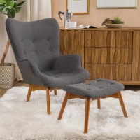 Langley Street Canyon Vista Mid-Century Accent Chair Set ...
