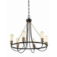 Langley Street Bendooragh 6 Light Candle Chandelier