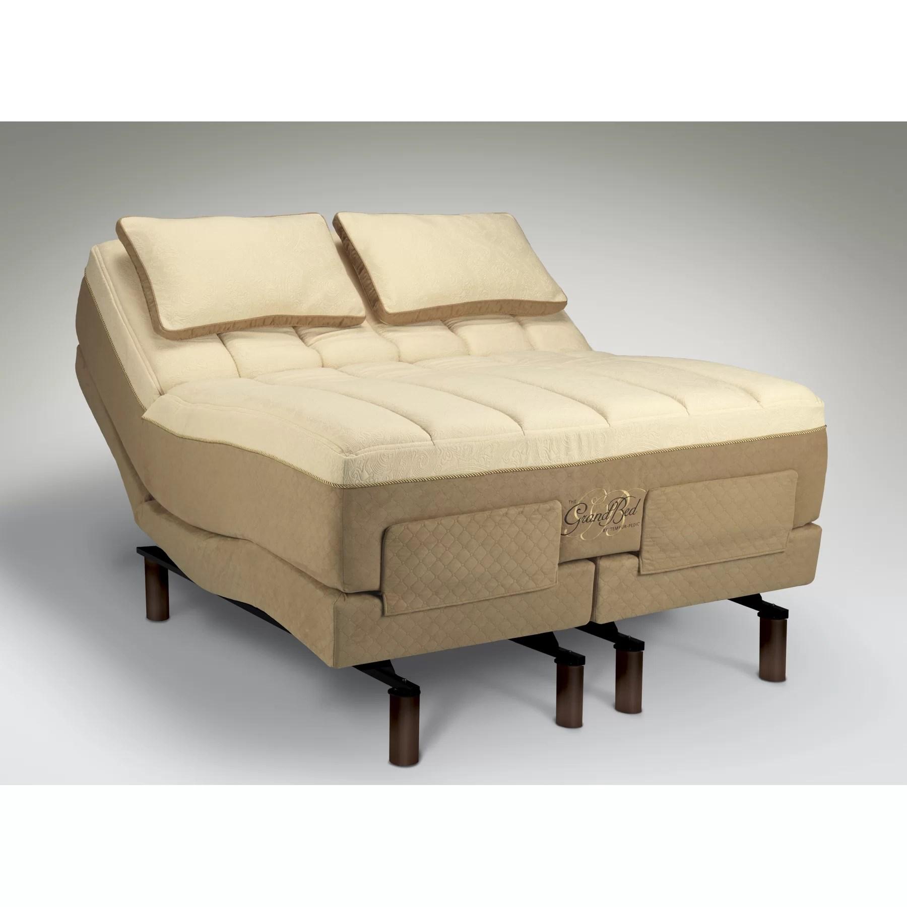 Tempur-Pedic TEMPUR-Ergo Adjustable Bed & Reviews | Wayfair