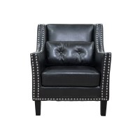 BestMasterFurniture Faux Leather Arm Chair & Reviews | Wayfair